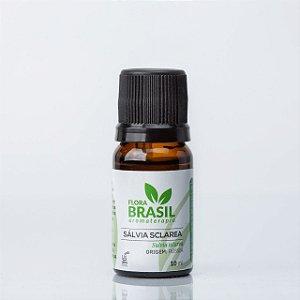 Óleo Essencial Sálvia - Flora Brasil - 05 ml
