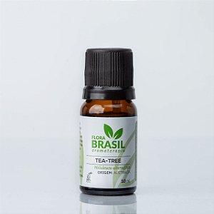 Óleo Essencial Tea Tree (Melaleuca) - Flora Brasil - 10 ml