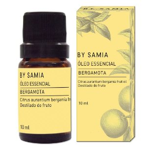 Óleo Essencial de Bergamota 10 ml - By Samia