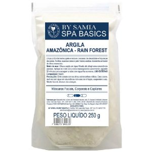 Argila Rain Forest Cinza (Amazonica) 250g - By Samia
