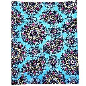 Trilho de Mesa Mandala Charlô Azul 45cmx1,50cm