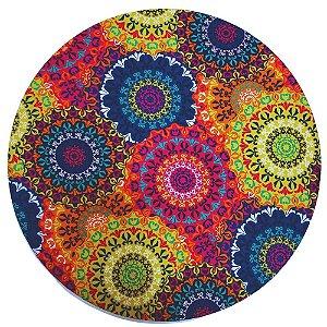 Kit 2 Capas para Sousplat Mandala Circle Charlô 35cmx35cm