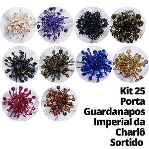 Kit 25 Porta Guardanapos Imperial da Charlô Sortido