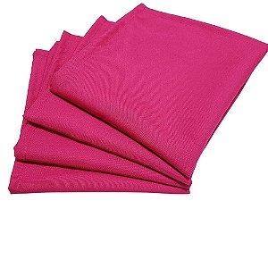 Box 20 Guardanapos de Tecido Oxford Pink 40cmx40cm
