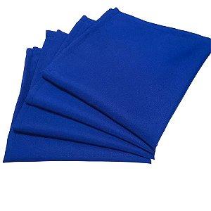 Box 20 Guardanapos de Tecido Oxford Azul Royal 40cmx40cm