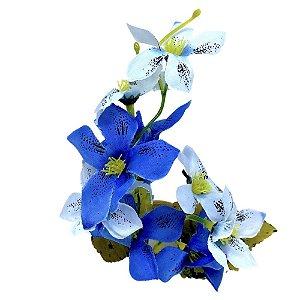 Box 16 Porta Guardanapo Ramo de Mini Orquídeas Céu Azul da Charlô