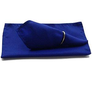 Guardanapo de Tecido Azul Royal 32cmx32cm - 4 unidades