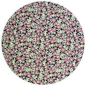 Capa para Sousplat Floradinha II da Charlô com base em MDF 35cmx35cm - 8 peças