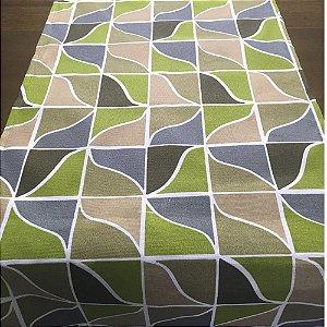 Trilho de Mesa Mosaico Oliva 45cm x 1,5cm