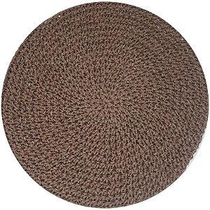 Kit 4 Sousplats Tyft Papier Chocolate 38cmx38cm