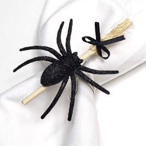Kit 4 Porta Guardanapos Halloween Aranha