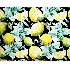 Kit 4 Jogos Americanos Pomar Limão Siciliano da Charlô 43cmx34cm