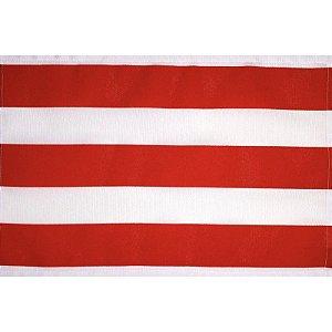 Jogo Americano Listrado Vermelho da Charlô 45cmx30cm