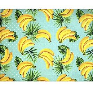 Kit 4 Jogos Americanos Banana Alegria 43cmx34cm