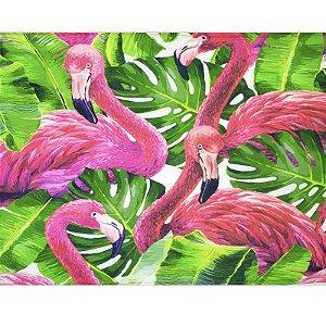 Kit 4 Jogos Americanos Flamingo Glamour 43cmx34cm
