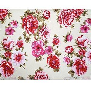 Kit 4 Jogo Americano Primavera Rosa da Charlô 45cmx30cm