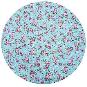 Kit 4 Capas para Sousplat Floral Romance 35cmx35cm