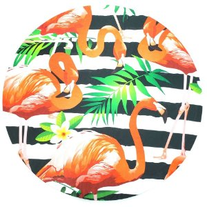 KIT 20 Capas Sousplat Flamingo 35cmx35cm