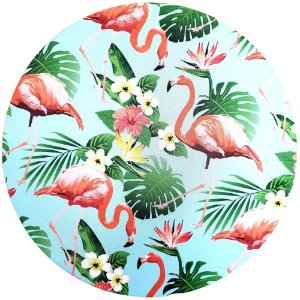 KIT 20 Capas Sousplat Flamingo II 35cmx35cm