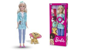 Large Doll Veterinária - Com 12 Frases - Barbie Profissões® - Mattel™