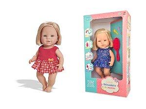 Boneca Coleção Brincadeira de Menina - Fashion - Pupee®
