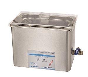 Lavadora Ultrassônica SoniClean 2 Sandres - 2,8 litros Bivolt