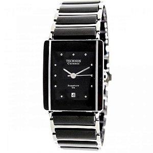 Relógio Techno Ceramic preto