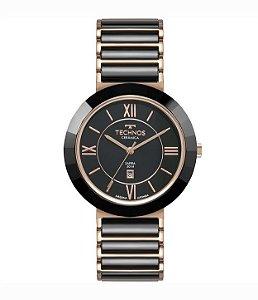 Relógio Technos Cerâmica Preto