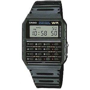 Relógio Casio Preto Calculadora