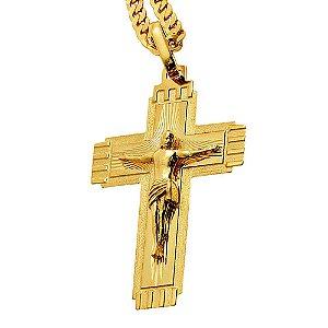 Pingente Ouro Crucifixo