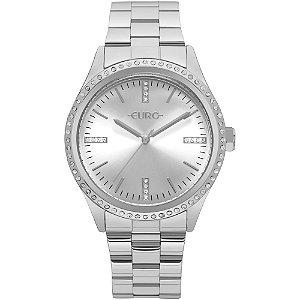 Relógio Euro Femino Prata