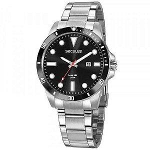 Relógio Seculus Prata