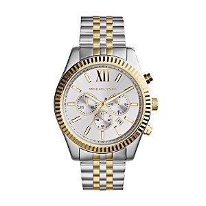 Relógio Michael Kors Prata e Dourado
