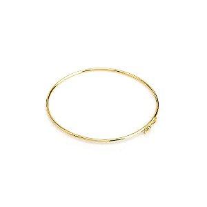 Bracelete Ouro Aro Roliço