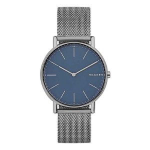 Relógio Skagen Mostrador Azul