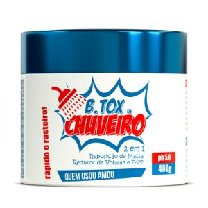 Btox de Chuveiro - Botox de chuveiro 480gr