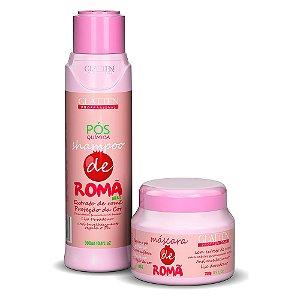 Shampoo, Máscara Capilar Pós Progressiva e Quimica de Romã P/ cabelos tingidos