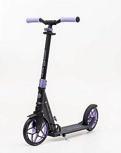 Scooter Groov patinete Dobrável - rodas 200mm C/ suspensão - Lilás
