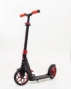 Scooter Groov patinete Dobrável - rodas 200mm C/ suspensão - vermelho