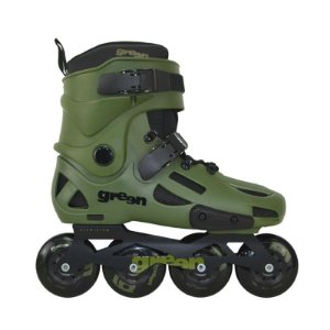 Patins Traxart Green (freestyle/urbano) 80mm 85a