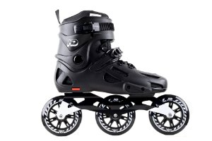 Patins HD Inline Evolution Full Black Urban Freestyle rodas 110mm