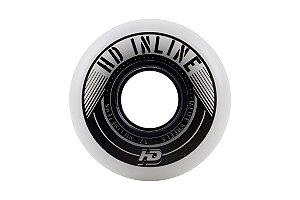 Rodas HD Inline Street Branca 57mm 90A - 4 rodas
