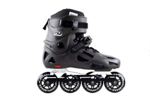 Patins HD Inline Evolution Dark Grey - rodas 80mm