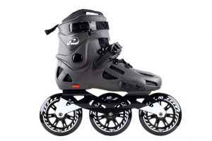Patins HD Inline Evolution Dark Grey - 3 rodas 110mm
