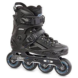 Patins IS Urban - Freestyle/Slalom - FSK preto rodas 80mm