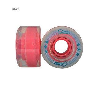 4 Rodas Traxart Glitter Para patins Tradicional Quad - Cores