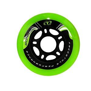 Rodas Traxart  Para Patins Freestyle Krazyleg 80mm (83a) - 4 rodas