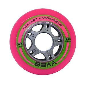 Rodas Traxart Hardwheels 76mm/88A - Rosa - 4 rodas