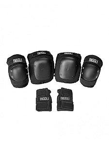 Kit De Proteção Completo Niggli Pads Pro - Infantil 4 a 8 anos