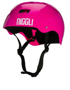 Capacete Niggli Pads Iron Profissional - Rosa